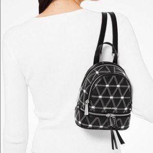 NWT Michael Kors Mini Quilted Rhea Backpack